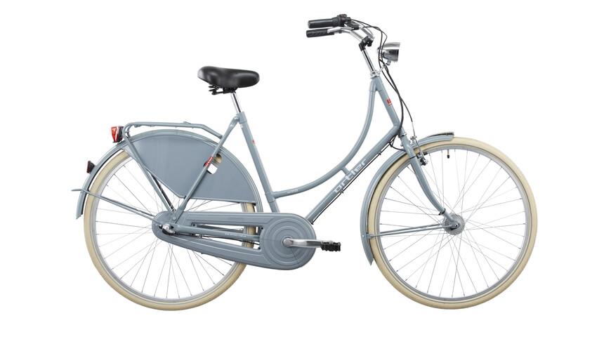 Ortler Van Dyck - Bicicleta holandesa - gris pastel